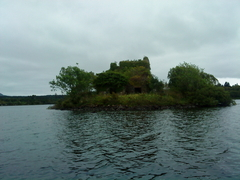 Prison Island. The site of an ancient lake dwelling,